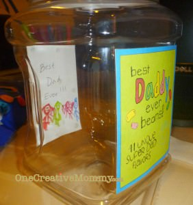 Jelly Bean Gift for Father's Day