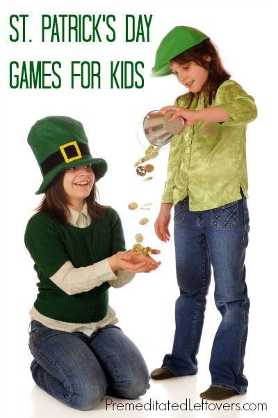 St. Patrick's Day Games for Kids from Premeditated Leftovers