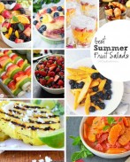 Best Summer Fruit Salad Recipes: These look so refreshing! I don't know which to try first. {OneCreativeMommy.com}